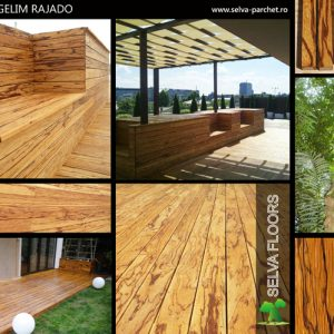 Deck Angelim Rajado