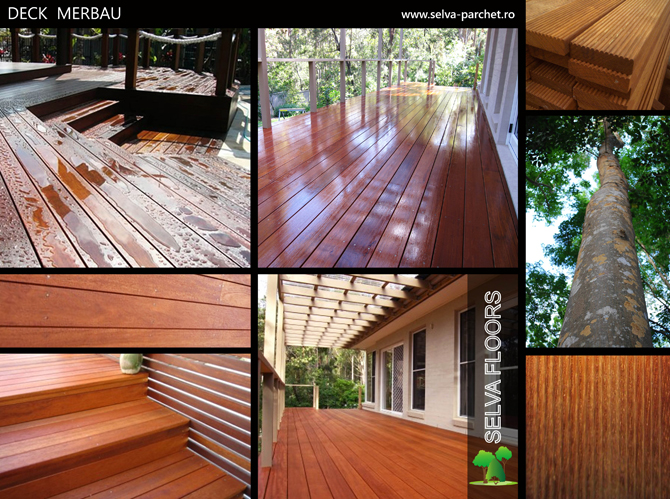 Deck Striat Merbau