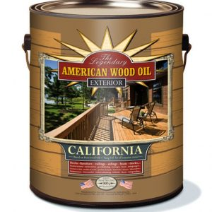 CALIFORNIA Exterior Oil