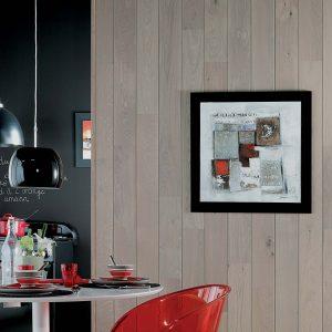 Panou Decorativ Lemn Stejar Rafia 141