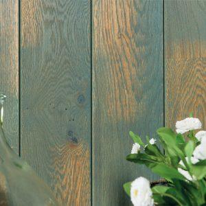 Panou Decorativ Lemn Stejar Cabane Verde 141