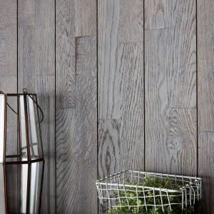 Panou Decorativ Lemn Stejar Cabane Gri Duo 141